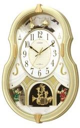 シチズン CITIZENのメロディ掛時計パルミューズコンチェルト 4MN496-018