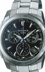 ヨーロピアンスポーティデザインのソーラー電波時計「オシアナス」のスポーティ&ドレッシーをコンセプトとした新しい時計