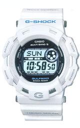 カシオ Gショック ガルフマン ソーラー電波時計 Men in Ice White GW-9100P-7JF 男性用 メンズ 腕時計