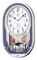 メロディー電波掛け時計AM224S