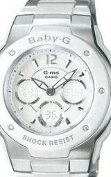 カシオ CASIO ベビーG (BABY-G) Gミス(G-ms) MSG-300C-7B1JF