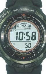 カシオ CASIO プロトレック(PROTREK) トリプルセンサー ソーラー電波時計 PRW-1300BJ-3JF