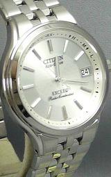 シチズン 高級ソーラー電波時計 エクシード ebg74-2791