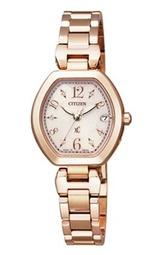 シチズンの女性用腕時計クロスシー ソーラー電波時計ES8052-55A