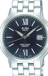 ALBA アルバ腕時計 10気圧防水の男性用ソーラーウオッチ サクセス AABD033