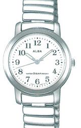 アルバ ALBA 伸縮バンド採用 腕時計 スタンダードコレクション 女性用 AQDS935