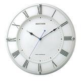 リズム時計 RHYTHM 電波時計 ミレディア 壁掛け時計 8MY503SR03