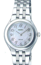 セイコー スピリット 電池交換の必要がなく環境にも優しいソーラー腕時計 女性用STPR009