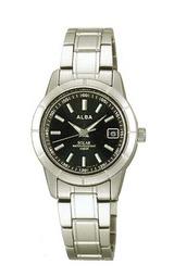 アルバ シンプルなスタンダード腕時計 aegd505