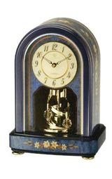 リズム 回転飾りつき置き時計QE2 4sg786qe04