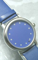 針のない時計? アバカスのブルーダイヤル 1-860918