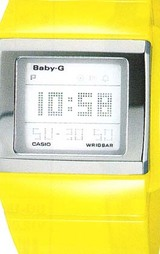 カシオ CASIO ベビーG カスケットスリム(BABY-G) BG-2001-9JF