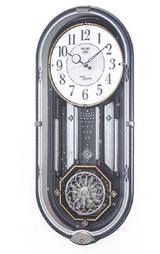 昼と夜 2つの表情が楽しめる掛け時計