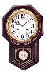 セイコー(SEIKO)木枠の柱時計RQ321B