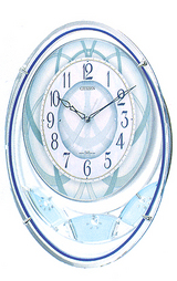 美しい音色のオーロラサウンドのメロディ掛け時計