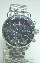 セクター290 ブルー系文字板のクロノグラフ腕時計B3290C035