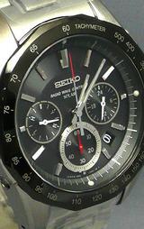 クロノグラフ ソーラー電波時計セイコー ブライツSAGA027
