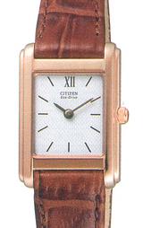 薄くスタイリッシュなソーラー腕時計ステレット(女性用)