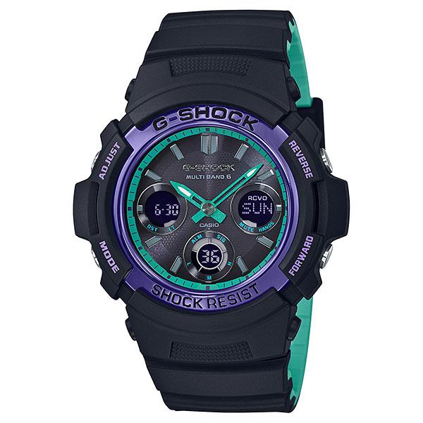 新製品 カシオ Gショック AWG-M100SBL-1AJF ソーラー電波時計