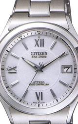 シチズン(CITIZEN)ソーラー電波時計アテッサATD53-2842