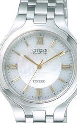 シチズン CITIZEN ソーラー腕時計エクシード男性用 EBR74-2141
