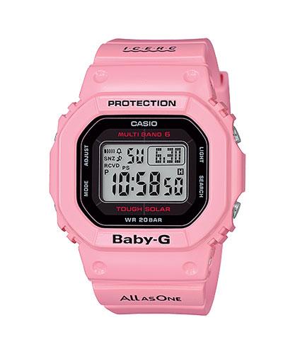 イルカクジラ BGD-5000K-4JR ベビーG ソーラー電波時計 女性用 腕時計再入荷