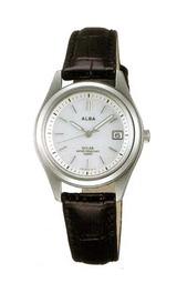 電池交換を必要としないアルバのソーラー腕時計AEGD502