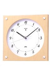 インテリア性の高い電波掛け時計KS268B
