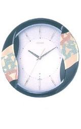 日本の伝統美 和風の電波掛け時計