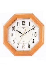 暗くなると文字板が光る掛け時計ネムリーナ8MY406-006