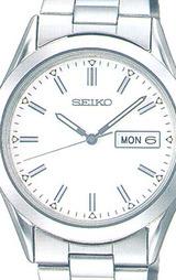 セイコー 曜日付きカレンダー採用 男性用腕時計スピリット SCDC035