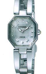 ソーラー腕時計シチズン ウィッカ ビジュー(CITIZEN WICCA BIJOUX) NA15-1581B