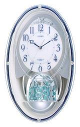 シチズン メロディ電波掛時計 パルミューズ4MN482-003