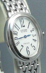 シチズン(CITIZEN)高級ソーラー腕時計エクシードレディースEBS75-2391