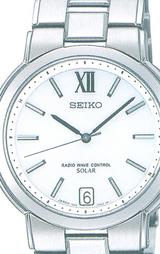 セイコー SEIKO ドルチェ ソーラー電波時計 男性用 SADZ051