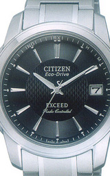 スタンダードながらもアクティブでモダンテイストなデザインを追及したシチズン高級ソーラー電波時計