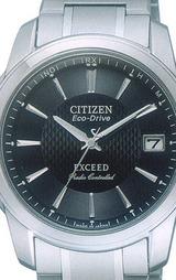 CITIZEN シチズン高級ソーラー電波時計 EXCEED エクシード男性用 EBG74-2751