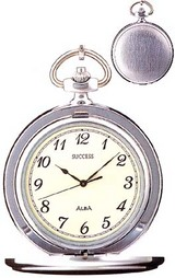 ふた付きの懐中時計