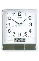 セイコーソーラー電波掛け時計SF231W