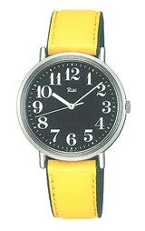 大人のカジュアル腕時計「リキワタナベ」。
