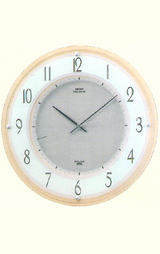 インテリア ソーラー電波掛け時計プレミアム LS227B