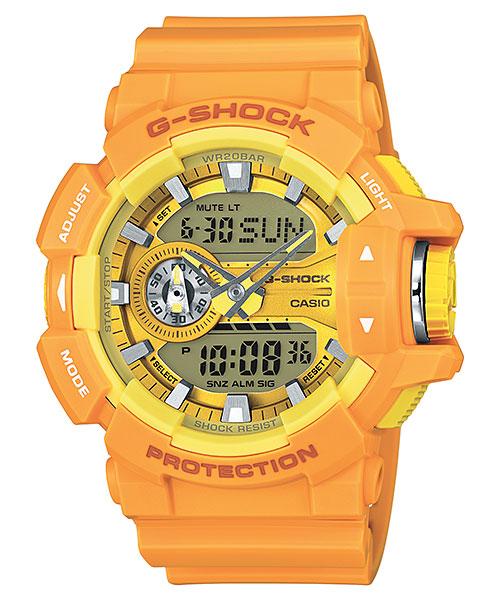 春のカジュアルスタイルに映える鮮やかなカラーリングの時計