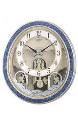 リズムからくり時計スモールワールドローティ4MN450RH04