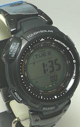 カシオ プロトレック トリプルセンサー ソーラー電波時計 PRW-1300YTJ-1JF