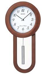 セイコー SEIKO 木枠の柱時計 振り子付き チャイム 報時付き RQ324B