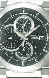 ワイアードデルタ1/100秒クロノグラフAGAV001