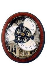 リズムからくり時計スモールワールドM498 4MN498RH23