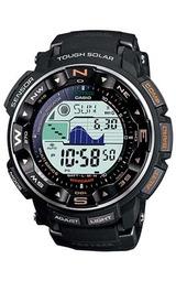 カシオ ソーラー電波腕時計 プロトレック 方位、高度・気圧、温度を計測 PRW-2500-1JF