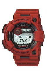 カシオ Gショックソーラー電波時計 Burning Red《バーニング・レッド》フロッグマン GWF-1000RD-4JF