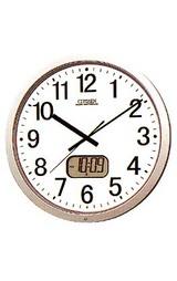 液晶カレンダー付き電波時計 パルウェーブ4FY604-B19